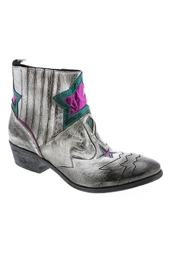 elena lachi chaussures femme de couleur gris