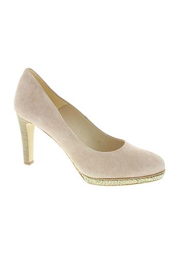 rosemetal chaussures femme de couleur rose
