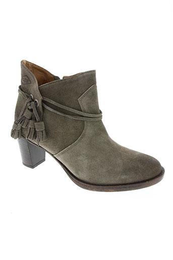 palladium chaussures femme de couleur marron