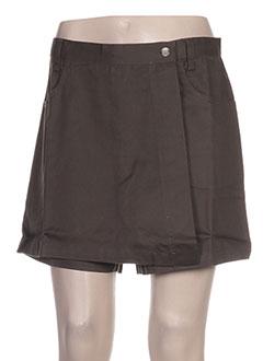 Produit-Shorts / Bermudas-Femme-BLANCHEPORTE