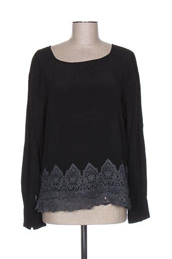 charlie joe chemises femme de couleur noir