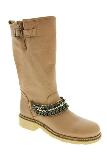 manila grace chaussures femme de couleur beige