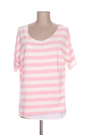 new collection t-shirts femme de couleur rose