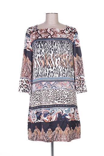 my collection robes femme de couleur marron