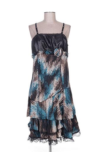 des filles a la vanille robes femme de couleur bleu