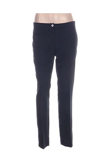 hippocampe pantalons femme de couleur bleu