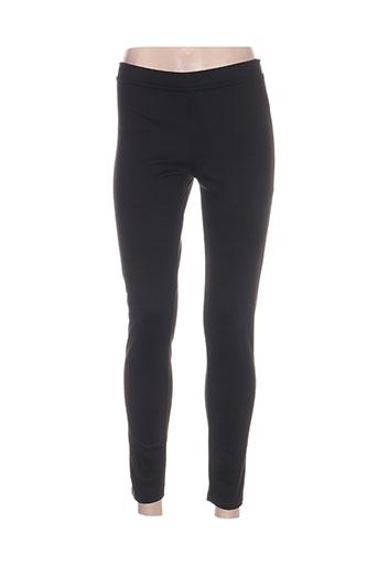 romeo pour juliette pantalons femme de couleur noir