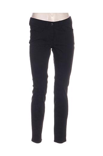 gardeur pantalons femme de couleur noir