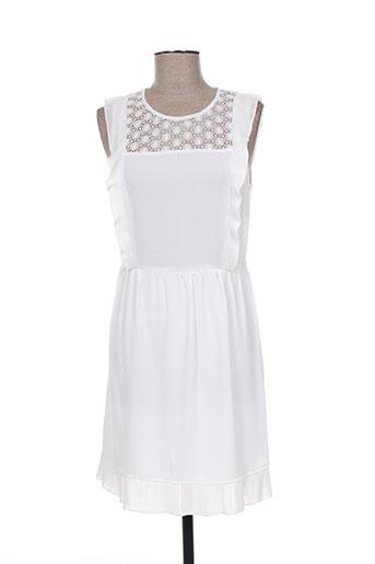 kocca robes femme de couleur blanc