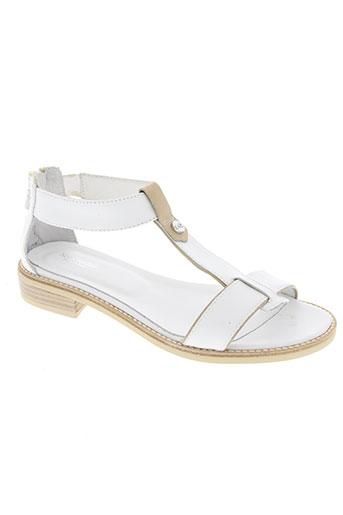 nero giardini chaussures femme de couleur blanc