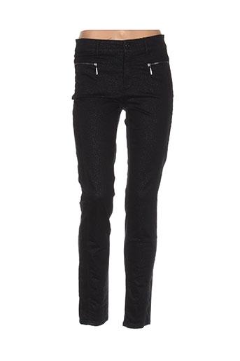 limited edition pantalons femme de couleur noir