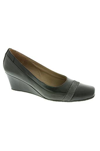 plumers chaussures femme de couleur noir