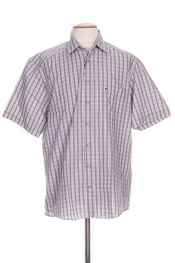 jupiter chemises homme de couleur gris