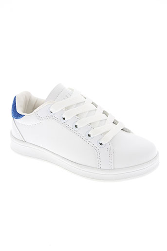 tiffosi chaussures enfant de couleur blanc