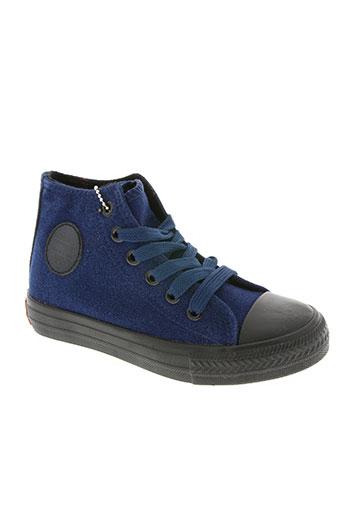 happy luck chaussures enfant de couleur bleu
