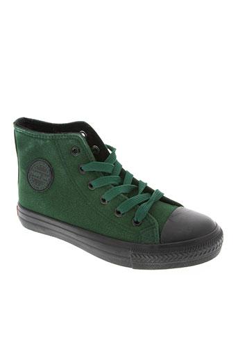 happy luck chaussures enfant de couleur vert