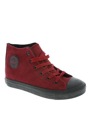 happy luck chaussures enfant de couleur rouge