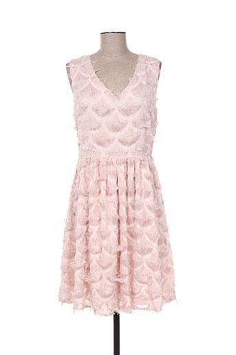 choklate robes femme de couleur rose