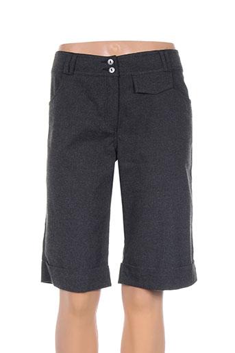 paul brial shorts / bermudas femme de couleur gris