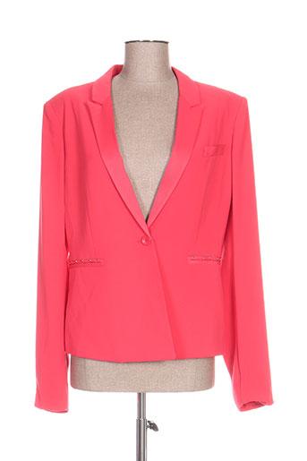 guess vestes femme de couleur rose