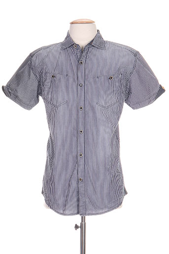 timezone chemises homme de couleur bleu