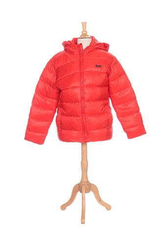 nukutavake manteaux garçon de couleur rouge