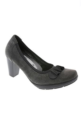 ombelle chaussures femme de couleur gris
