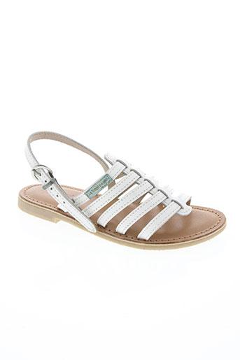 les tropeziennes par m.belarbi chaussures fille de couleur blanc