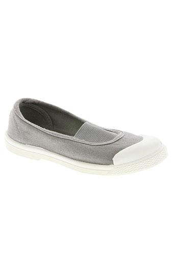 buggy chaussures fille de couleur gris