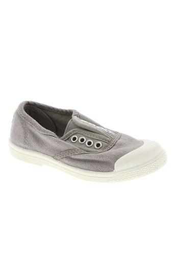 buggy chaussures enfant de couleur gris