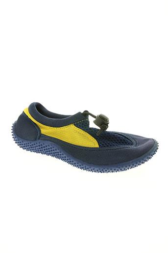 transat chaussures enfant de couleur bleu