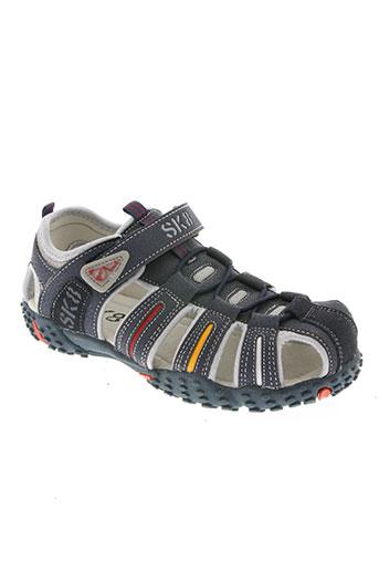 sk8 chaussures garçon de couleur bleu