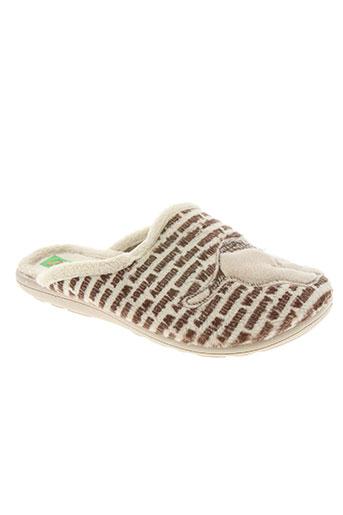 les p'tits oufs chaussures garçon de couleur beige