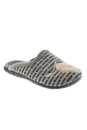 les p'tits oufs chaussures garçon de couleur gris