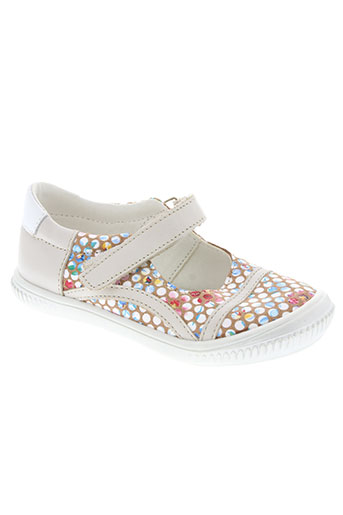 bopy chaussures fille de couleur beige