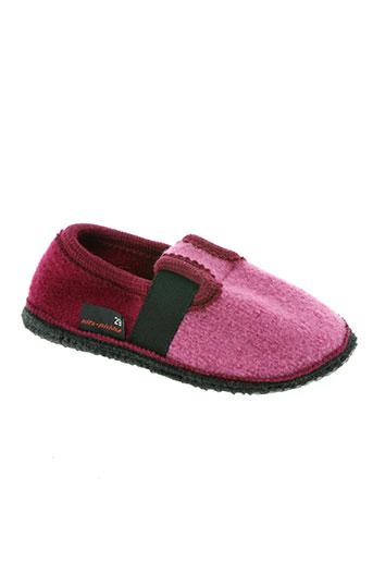 gottstein chaussures fille de couleur rose