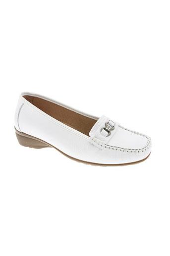semelflex chaussures femme de couleur blanc