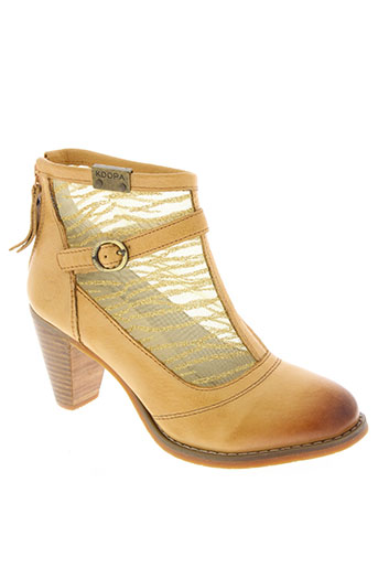 kdopa chaussures femme de couleur beige