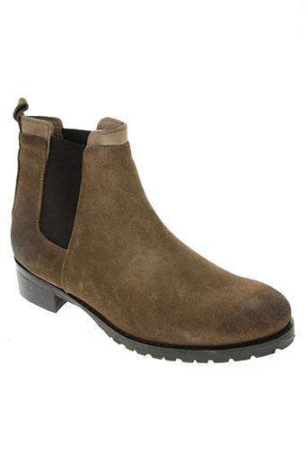 piranha chaussures femme de couleur marron
