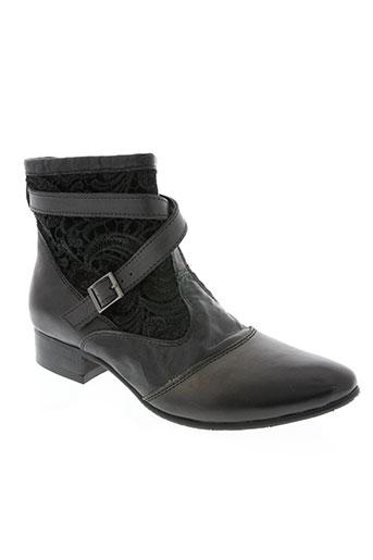 kdopa chaussures femme de couleur noir