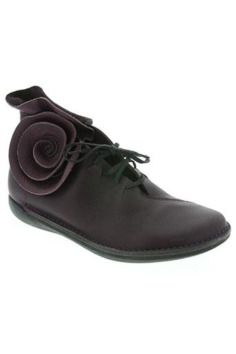 loints chaussures femme de couleur violet