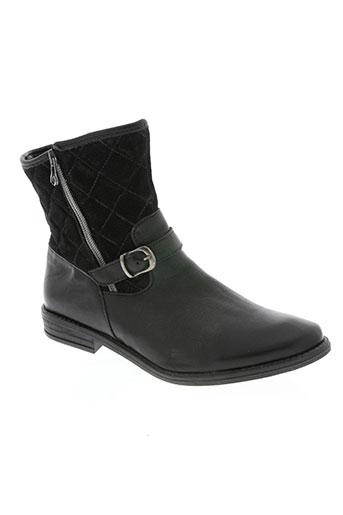 minibel chaussures femme de couleur noir