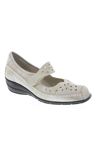 hasley chaussures femme de couleur gris