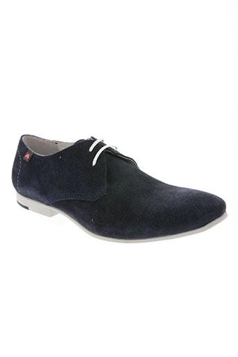 ambitious chaussures homme de couleur bleu