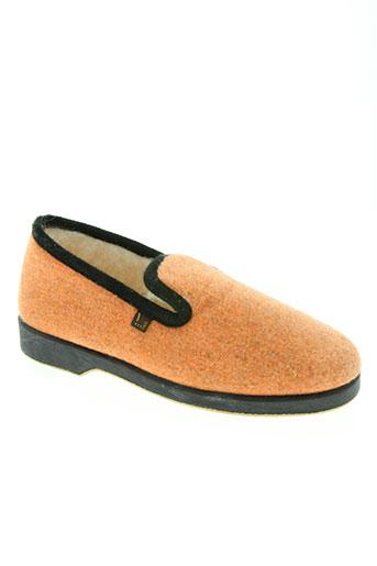 ouf! chaussures femme de couleur orange