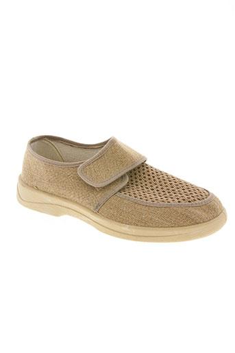 ouf! chaussures homme de couleur beige