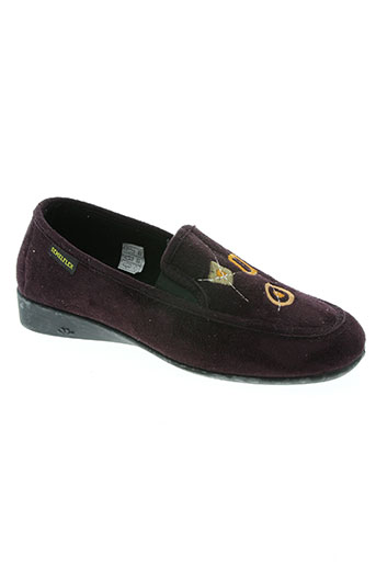 semelflex chaussures femme de couleur violet
