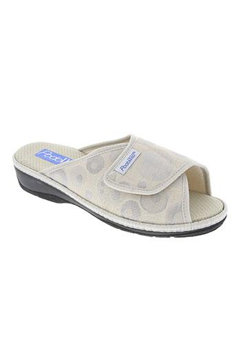 podowell chaussures femme de couleur gris