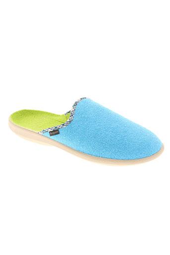 fargeot chaussures homme de couleur bleu