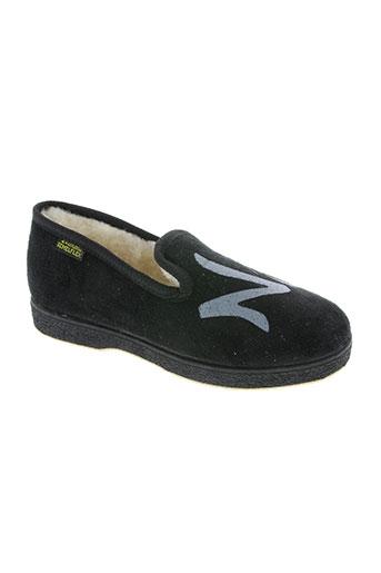 semelflex chaussures garçon de couleur noir